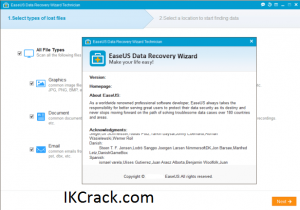 EaseUS Data Recovery Wizard 14.2 Crack + Torrent Free Download 2021
